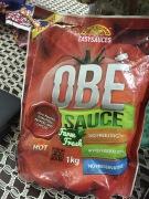 'Obe Sauce' pakaging
